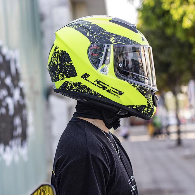 mũ bảo hiểm fullface LS2 ff397 vector