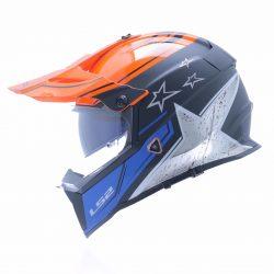 Mũ dual sport LS2 MX436 Pioneer 8