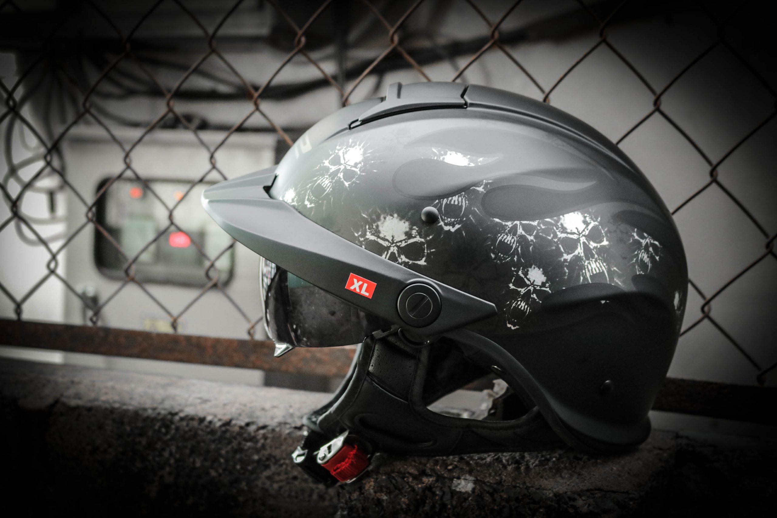 mũ nửa đầu LS2 HH590 Rebellion