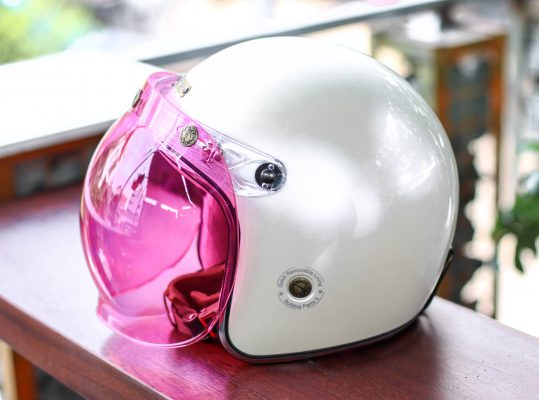 kính bulldog bubble hồng