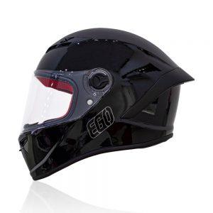 mũ fullface EGO E-7 đen bóng
