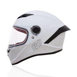 mũ fullface EGO E-7 trắng bóng